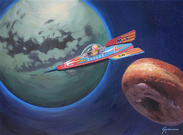, 'Orbiting Titan ,' , Corey Helford Gallery