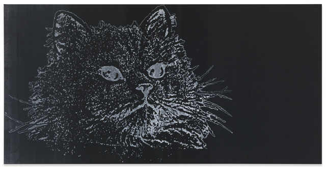 , 'Katze,' 1992, Michel Majerus Estate