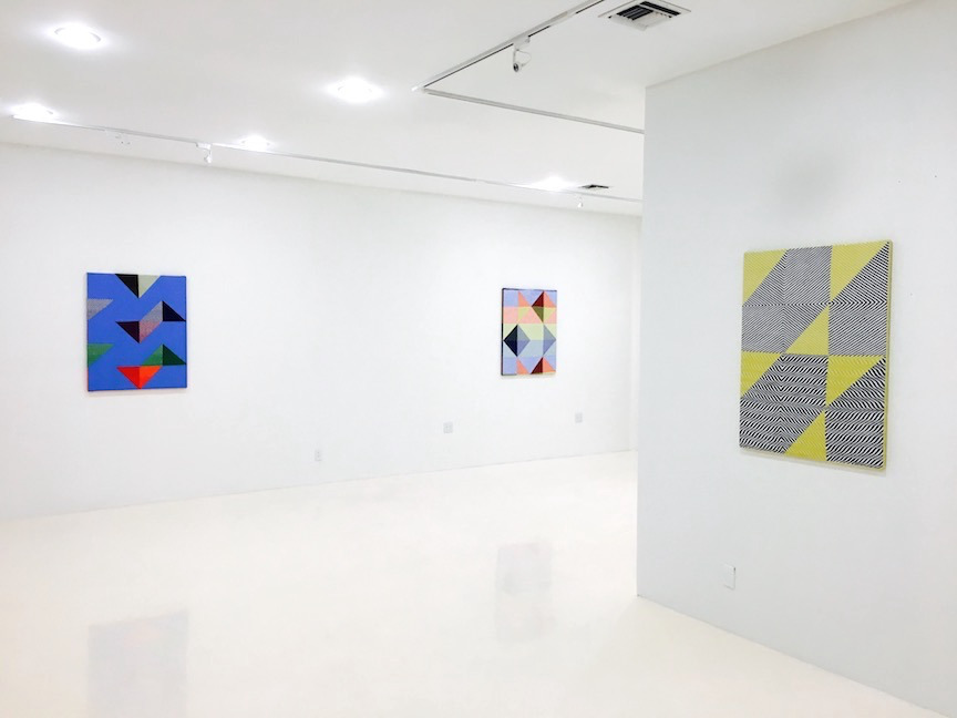 Installation view 2 | Oscillate | Samantha Bittman | C O U N T Y | Palm Beach, FL