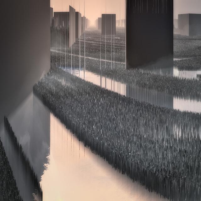 , 'Landcuts Ville 5 1HRAVV,' , Gauchet Fine Art