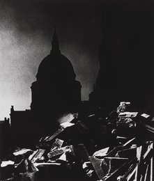 St. Paul's Cathedral in Moonlight
