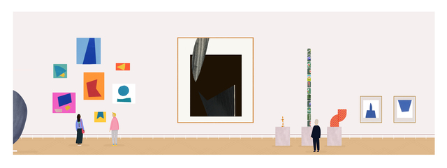 , 'Gallery Panorama 3,' 2017, Rebecca Hossack Art Gallery