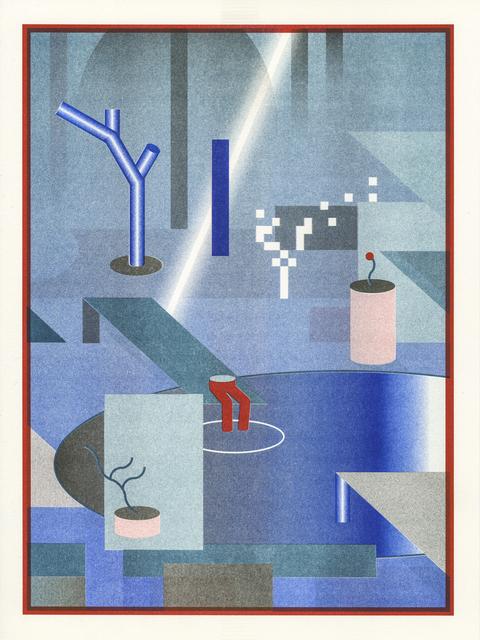 , 'Work Hard Play Hard #1,' 2016, Galerie Kleindienst