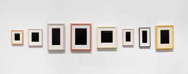 , 'Collection of Eight Plaster Surrogates,' 1982-1989, Galerie Mitterrand
