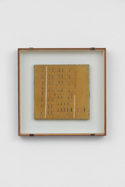 Bice Lazzari, 'Le due verticali n.2 [The two verticals n.2] ', 1967, Richard Saltoun