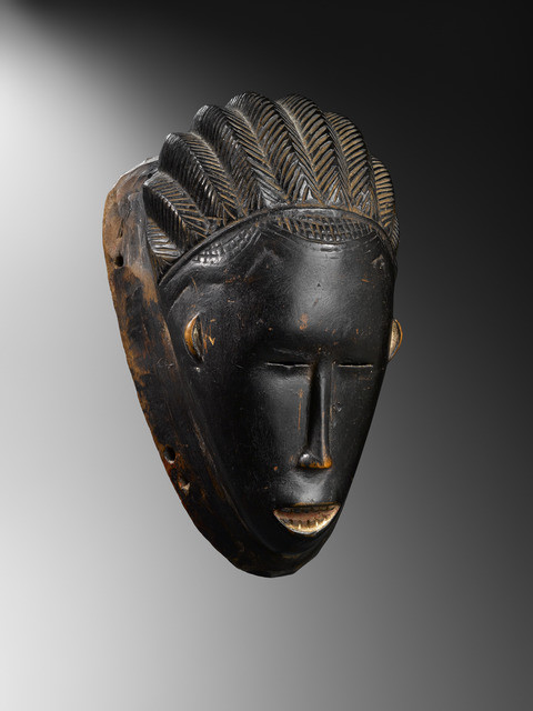 , 'Gouro mask,' late 19th century, Lucas Ratton