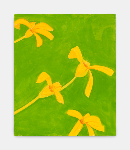 Alex Katz, 'Untitled, yellow-green', 2019, Richard Gray Gallery