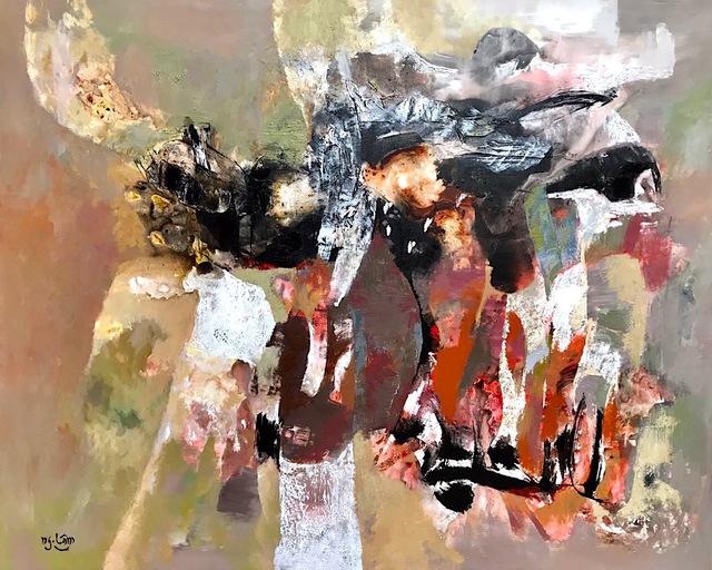 Nguyen Lam, 'Untitled Abstract', 2018, ArtBlue Studio