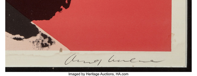 Andy Warhol, 'Liz', 1964, Print, Offset lithograph in colors on paper, Heritage Auctions