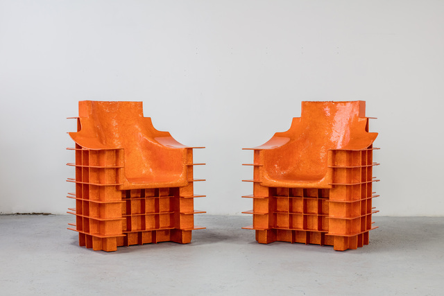 , 'Alufoil (Terrace Chairs),' 2016, Friedman Benda