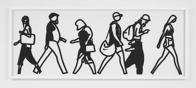 , 'Walking in Melbourne 1,' 2018, Alan Cristea Gallery