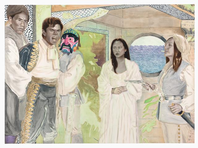 , 'Mutiny Bound - Tantoo, Wes, Lou & Irene,' 2017, Shulamit Nazarian