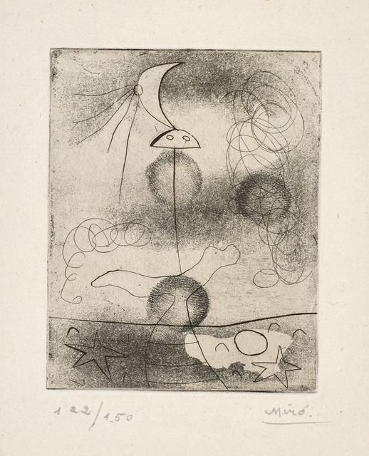 Joan Miró, 'Solidarité (Solidarity)', 1938, Phillips