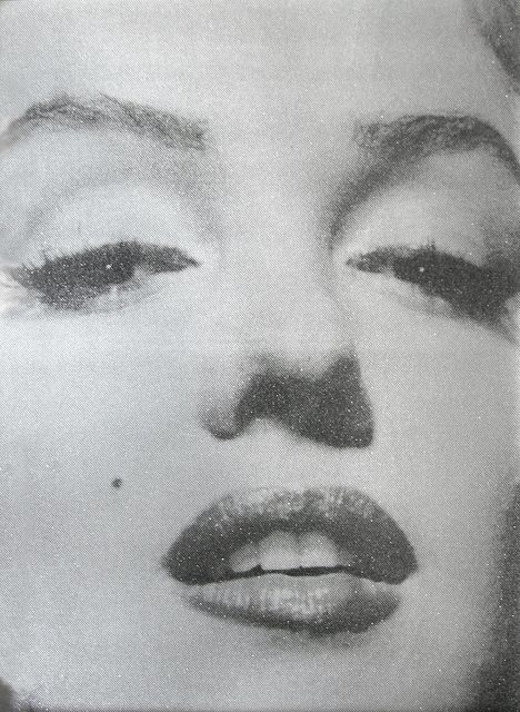 Russell Young, 'Marilyn Close Up (Atomic Silver and Black)', 2011, Addicted Art Gallery