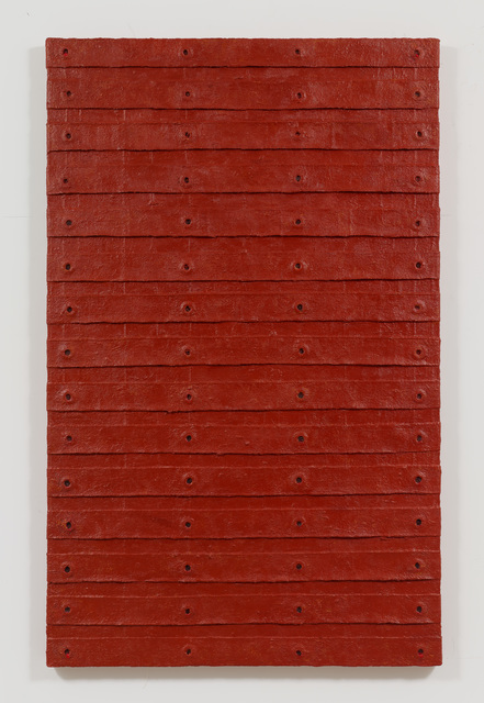 , 'Red Stack,' 2015, Alexander Gray Associates