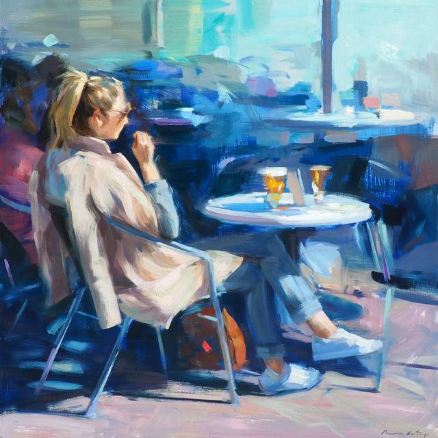 Mónica Castanys, 'Blue mornings', 2016, Anquins Galeria