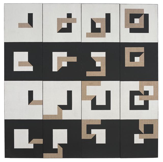 , 'Q 4 Montage-demontage, centripetale-centrifugale 1-4,' 1975, Vintage