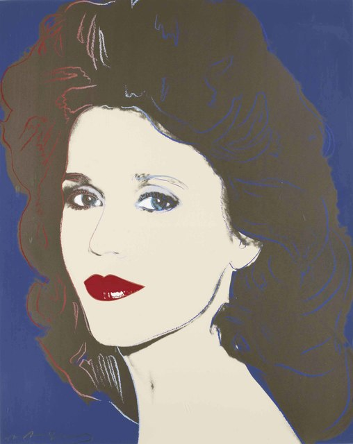 Andy Warhol, 'Jane Fonda', 1982, Christie's