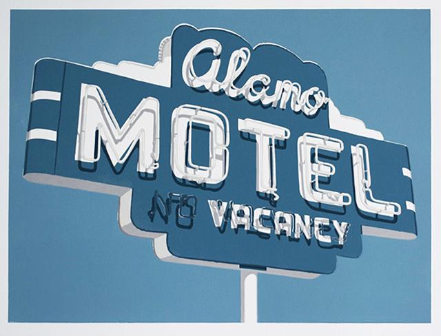 , 'The Alamo Motel (Los Alamos),' 2020, Sue Greenwood Fine Art