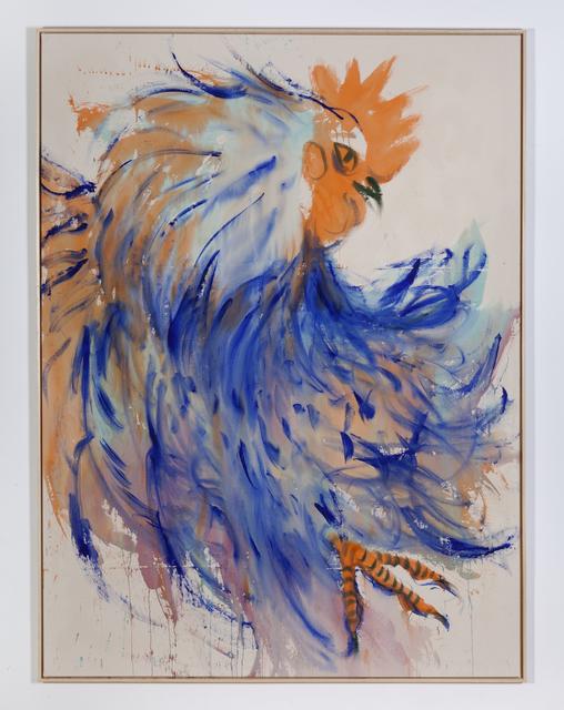 , 'Ultramarine cock,' 2018, DSC Gallery
