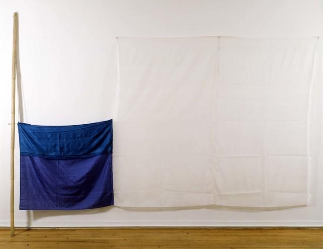 Robert Rauschenberg, 'Que (Jammer)', 1976, Sewn fabric, rattan pole, and string, Robert Rauschenberg Foundation