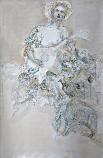 , 'Mandolin.,' 2017, Marina Gisich Gallery