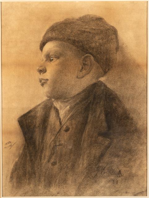 , 'Young German Boy,' 1888, InLiquid