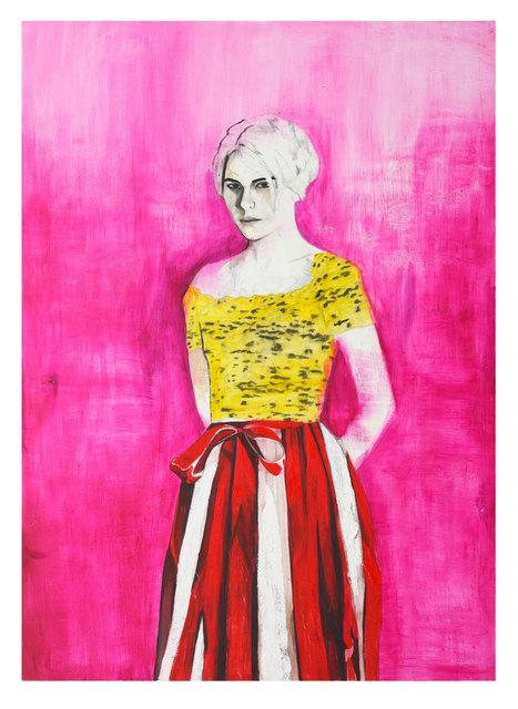 , 'Portrait of the Poet Dasha Nekrasova,' 2016, Brand New Gallery