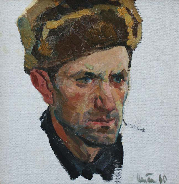 , 'Portrait of a Man,' 1960, Paul Scott Gallery & galleryrussia.com