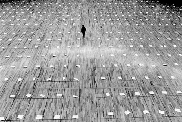 , 'Concours de calligraphie, Tokyo, Japon,' 1981/2014, Galerie Maeght