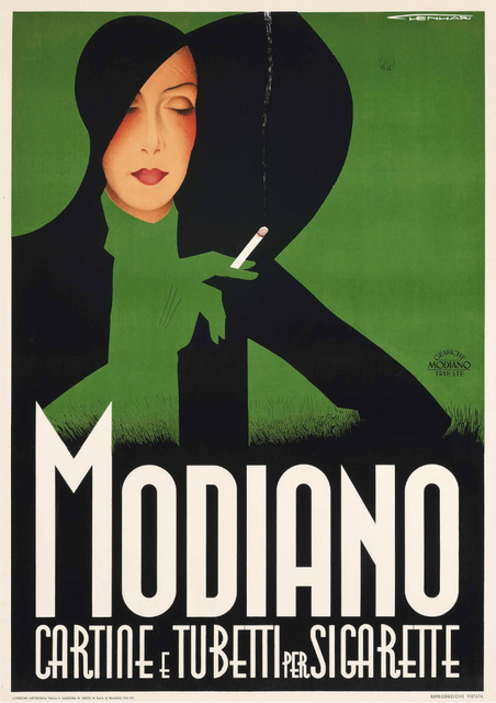 , 'Modiano - Cigarette Rolling Papers - Smoking,' ca. 1935, Omnibus Gallery