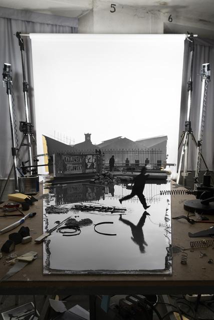 """, 'Making of """"Derrière la gare de Saint-Lazare"""" (by Henri Cartier-Bresson, 1932),' 2016, East Wing"""