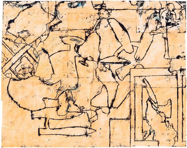 , 'Disunified Theory: Orange Shift,' 2015, McClain Gallery