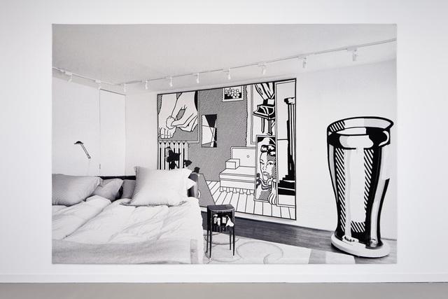 , 'Backdrop. Bed room,' 2014, Galerie Rüdiger Schöttle