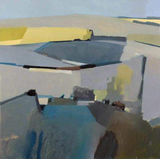 , 'Landforms,' , Mall Galleries