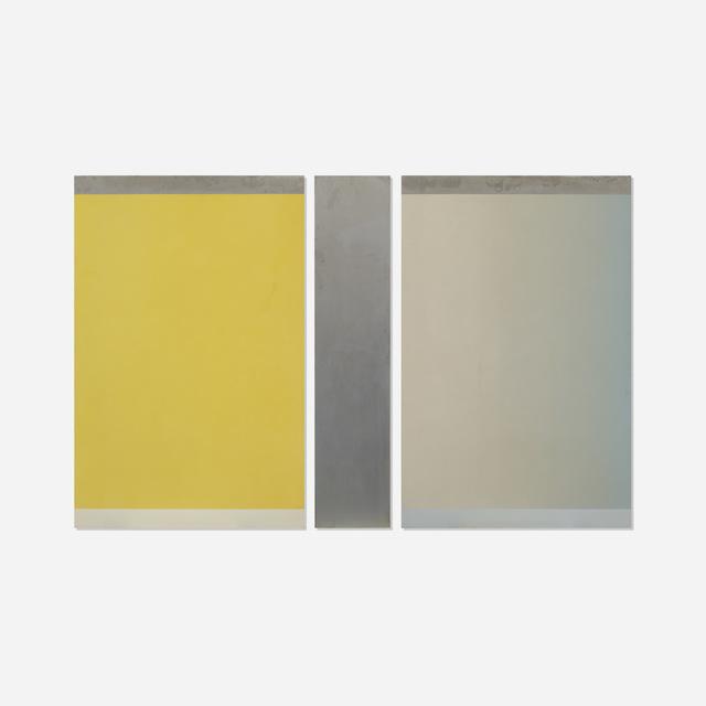 Frederick Spratt, 'Semaphor: August (triptych)', 1973, Wright