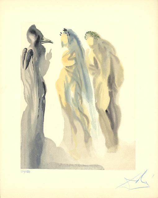 Salvador Dalí, 'Heaven Canto 9', 1960, Print, Woodblock, ArtWise