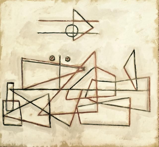 , 'Geometrías en fondo blanco,' 1934, Galería de las Misiones