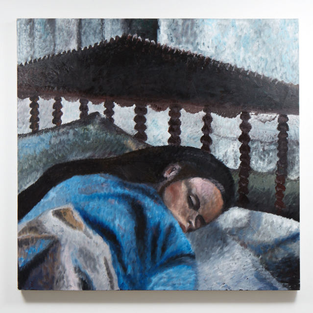 , 'Rory, lying in,' 2015, Evelyn Yard