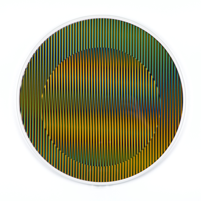 , 'Chromointerference Manipulable Circulaire B,' 2013, RGR+ART