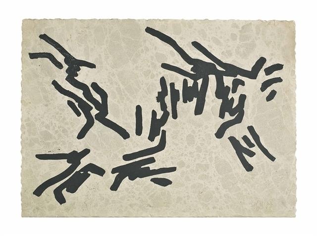Eduardo Chillida, 'Plaque #3', Christie's