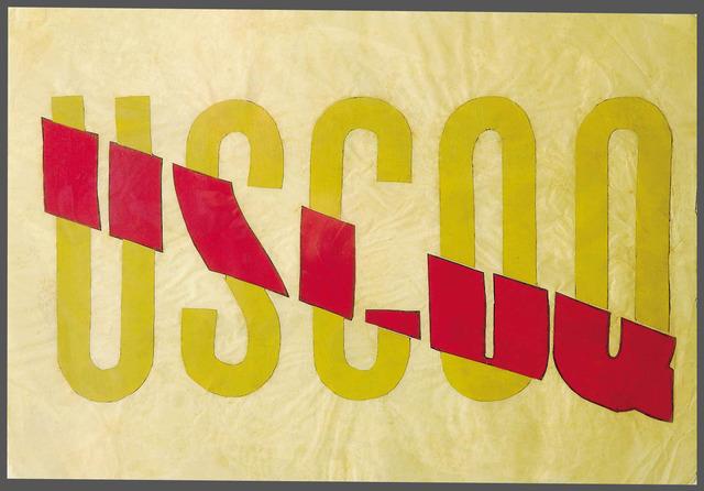 , 'USCOQ,' 1965, Luciana Brito Galeria