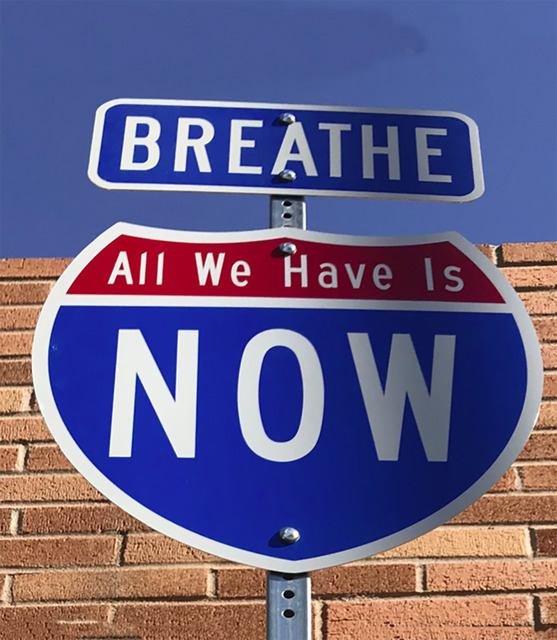 , 'Breathe-All We Have Is Now ,' 2017, Wallspace