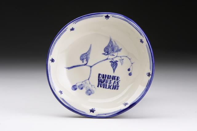 , 'Belladonna Dinnerware,' 2009, Pucker Gallery