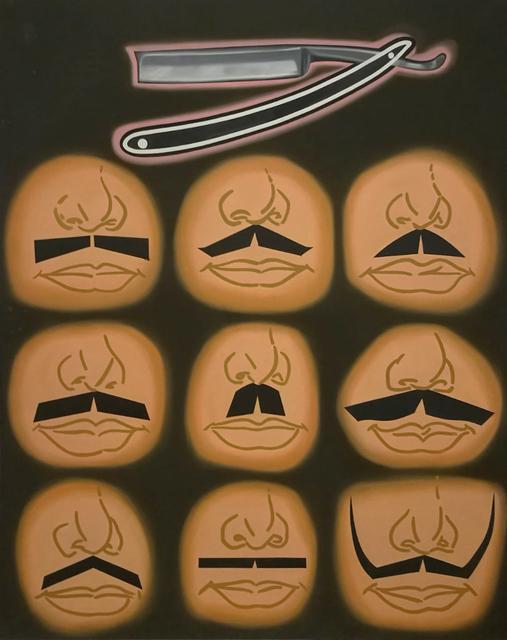 , 'Diversi tipi di gaffo reazionario spagnifo opurre aspetti vari del sindacato di attività diverse,' 1970, Galerie du Griffon