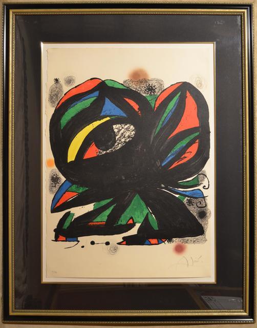 Joan Miró, 'Fundacio Joan Miró Barcelona - Limited edition Lithograph', 1975, Newport Brushstrokes Fine Art