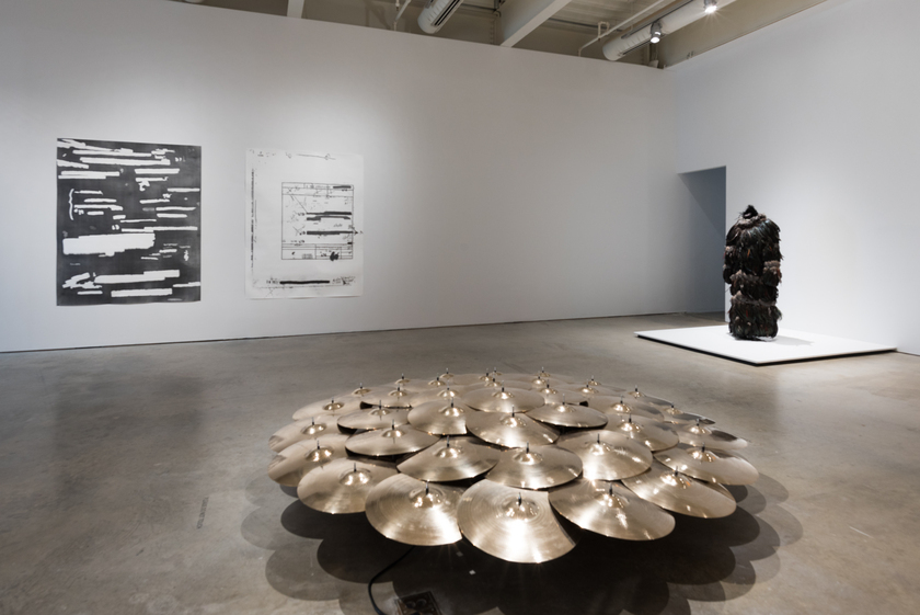 The Freedom Principle: Experiments in Art and Music, 1965 to Now, installation view, Institute of Contemporary Art, University of Pennsylvania. Photo: Constance Mensh.