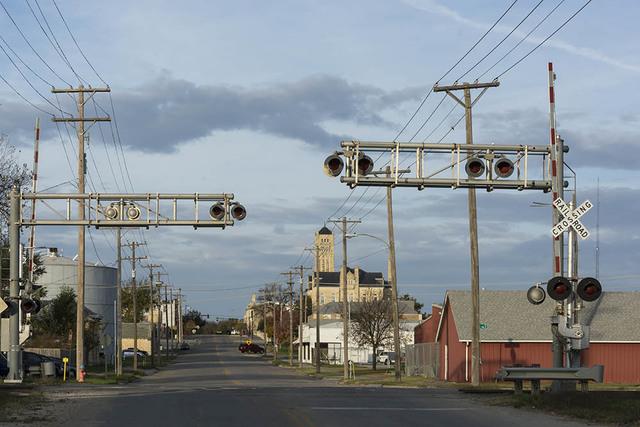 , 'Junction City Railroad Crossing, Junction City, KS,' , Soho Photo Gallery
