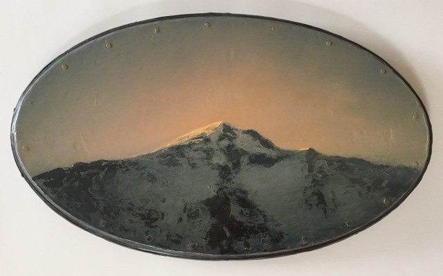 , 'Cold Mountain - Hot Glow,' 2004, Grenning Gallery