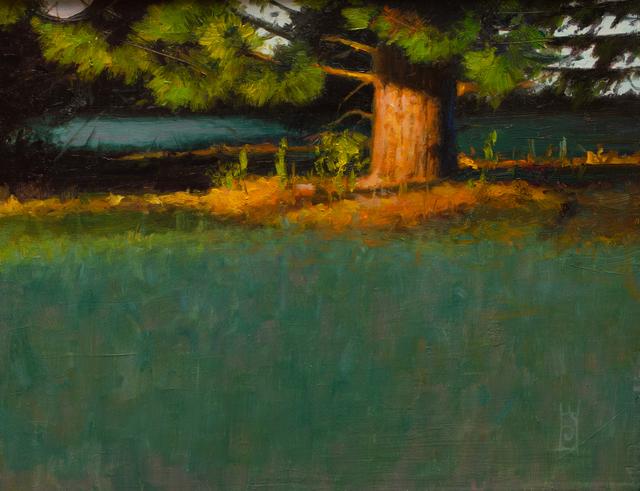 , 'Green Lit,' 2016, Susan Calloway Fine Arts